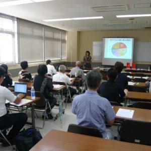 動脈硬化の予防法について学習(健康セミナー)
