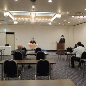 女性部会・青年部会・源泉部会合同による三部会総会を開催