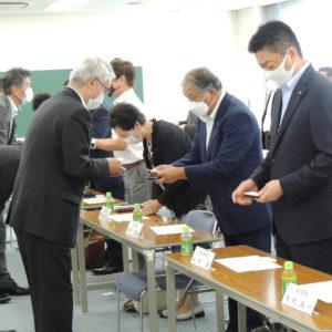 船橋税務署幹部との名刺交換会の開催