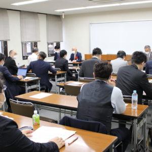 源泉部会・女性部会・青年部会合同による三部会総会の開催